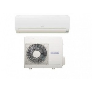 Climatizzatore Condizionatore Hitachi Inverter Serie Dodai Frost Wash 12000 Btu RAK-35REF R-32 Wi-Fi Optional