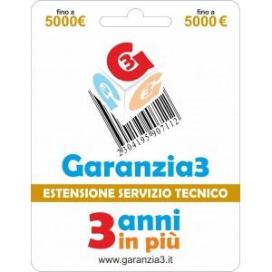 Garanzia3 - Estensione del Servizio Tecnico Fino a 5000 Euro