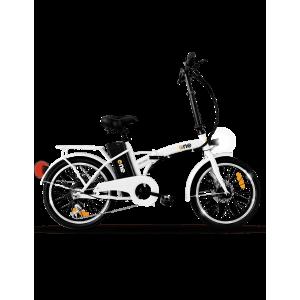 """THE ONE Bicicletta elettrica con pedalata assistita E-Bike Bici Pieghevole 250 W Autonomia 35 km Pneumatici 20"""" - One Easy Shining White"""