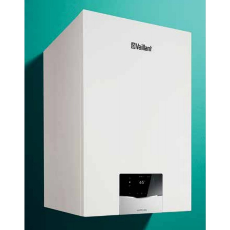 Caldaia Vaillant ecoTEC PLUS a condensazione VMI 30 CS/1-5 con bollitore Completa di kit fumi Metano low NOx