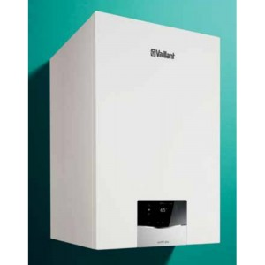 Caldaia Vaillant ecoTEC PLUS a condensazione VMI 35 CS/1-5 con bollitore Completa di kit fumi Metano low NOx
