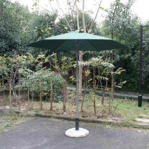 Ombrellone metallo snodo tondo cm 230 verde (1 pz)