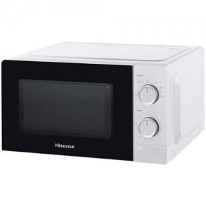 HISENSE Forno Microonde con Grill H20MOWS3G Capacità 20 Litri Potenza 700 Watt Colore Bianco