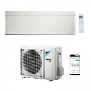 Climatizzatore Condizionatore Daikin Bluevolution Inverter serie STYLISH WHITE 12000 Btu FTXA35AW R-32 Wi-Fi Integrato classe A+++ Colore Bianco(Angolo delle Occasioni)