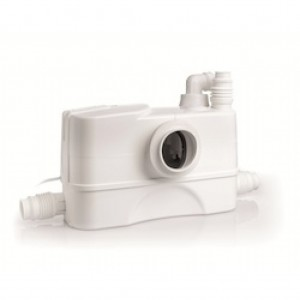 Genix 110 Comfort trituratore super silenzioso DAB per bagno wc + lavandino